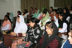 Participants at the Career Counselling event organized by PUAN Jamshoro chapter