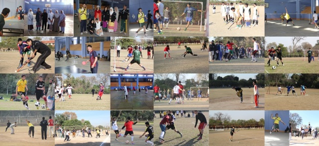 "UGrad Alumnus Roohullah Jan organized a ""Sports for Peace"" Gala in Peshawar from 10th to 14th February, 2014."