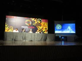Intellectual Property Rights panel led by copyright advocate and singer Haroon Rashid.