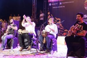 2014 Center Stage band Khumariyaan performs at Music Mela.