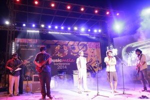 2014 Center Stage band Poor Rich Boy from Lahore perform at Music Mela.
