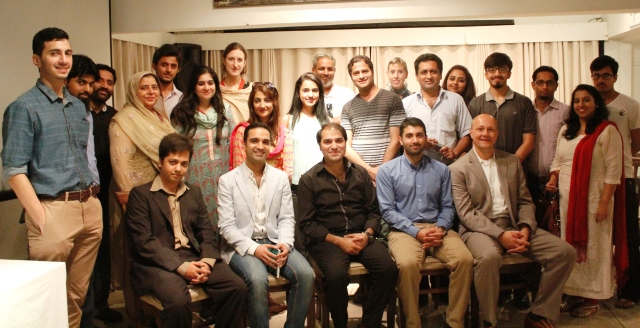 Panelists and participants of the Voices from Partition discussion