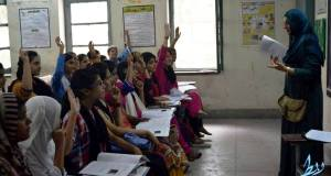 Summer Camp being conducted at a Government School for Girls