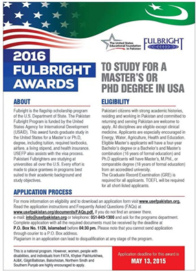 It's Time to Apply for the 2016 Fulbright Award!