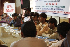 Male participants during the Career Counselling Workshop