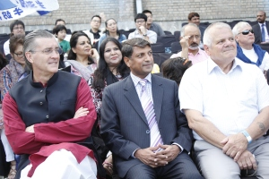 Chief Guest U.S. Ambassador Richard G. Olson enjoying Music Mela 2015