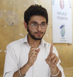 Global UGrad Alumnus Syed Zia Hussain Shah