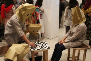 Fatima Jinnah Women University's students' performance piece called 'The Game'